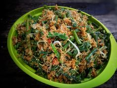 Urap by Muu Razak Gado Gado Recipe, Vegetable Recipes, Vegetarian Recipes, Indonesian Food, Indonesian Recipes, Asian Recipes, Ethnic Recipes, Malaysian Food, Cookie Recipes
