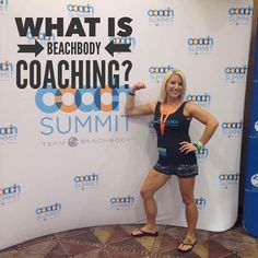#TBT  Back to my first Beachbody Summit. This is our annual event where we get to mingle with our team learn form top coaches workout live with the trainers and celebrate all of our success from the past year.  I had been a coach for almost 3 years but I was scared to DEATH to go to an event by myself. Since we build our business mostly online I didnt know a lot of my team. When I signed up to be a coach I was terrified of doing anything by myself much less traveling to another state and…