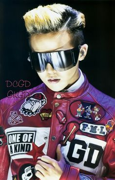 (The fact he has a Georgia Bulldogs patch on his jacket gives me the giggles!) GD | One of a Kind Final in Seoul DVD Photo Book