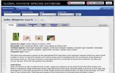 Global Invasive Species Database es una base de datos mundial sobre especies invasoras. Base