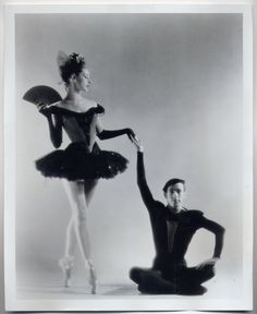 BOUREE FANTASTIQUE/JEROME ROBBINS & TANAQUIL LECLERCQ Ballerina NYC Ballet Dancers ORIGINAL PHOTO | eBay