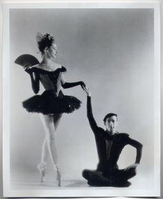 BOUREE FANTASTIQUE/JEROME ROBBINS & TANAQUIL LECLERCQ Ballerina NYC Ballet Dancers ORIGINAL PHOTO   eBay
