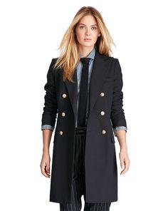 Double-Breasted Wool Blazer - Polo Ralph Lauren Blazers - RalphLauren.com