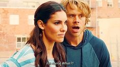 "graphicmix: ""Deeks: I'm sorry. What?! """