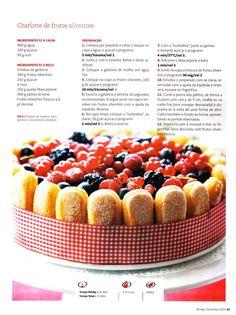 Revista bimby pt0001 - dezembro 2010 Secret Recipe, Spanish Food, Betty Crocker, What To Cook, Fruit Salad, Cake Decorating, Raspberry, Cheesecake, Food And Drink