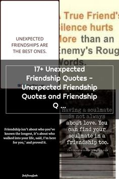 17+ Unexpected Friendship Quotes - Unexpected Friendship Quotes and Friendship Quotes Unexpected Friendships Are The Best Ones  -  #friendunexpectedfriendshipquotes #funnyunexpectedfriendshipquotes #newunexpectedfriendshipquotes #unexpectedfriendshipbirthdayquotes #unexpectedfriendshipmalayalamquotes #unexpectedfriendshipquotes #unexpectedfriendshipquotesgoodreads #unexpectedfriendshipquotesimages #unexpectedfriendshipquotespinterest #unexpectedfriendshipquotestumblr Unexpected Friendship Quotes, Short Friendship Quotes, Finding Your Soulmate, Better One, True Friends, It Hurts, Finding Yourself, Good Things, Real Friends