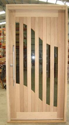 Current Door Designs - modern - front doors - The Door Keeper House Main Door Design, Front Door Design Wood, Room Door Design, Modern Front Door, Wooden Door Design, Wooden Doors, The Doors, Entry Doors, Windows And Doors