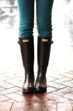 What I Wore: Drip Drop Dot by What I Wore, via Flickr - love the boots!