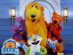 10 bizarre kids shows-boohbah freaked me out but Bear in the Big Blue House was awesome!