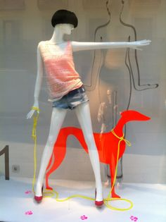 MannequinMadness.compinned by Ton van der Veer Find dog mannequins for your window display at