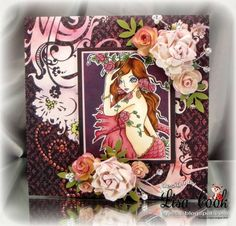 Rose Tatoo by busysewin - Cards and Paper Crafts at Splitcoaststampers