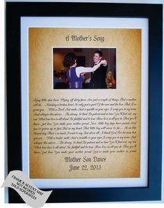 Personalized Gift For Son From Mother To Groom By Picmats