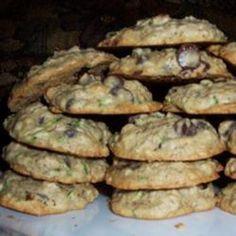 Zucchini-Oatmeal Cookies