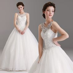 Find More Wedding Dresses Information about Plus Size Round Spaghetti Straps Halter Crystal Prom Gowns Empire Wedding Dress Free Shipping,High Quality dresses girls wedding,China wedding dresses sparkle Suppliers, Cheap wedding dresses with color trim from Mrs Y's Wardrobe on Aliexpress.com