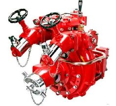 Fire fighting pump is a part of a fire sprinkler system's water supply and can…