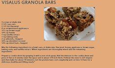 Granola Bars  choosesucces.bodybyvi.com
