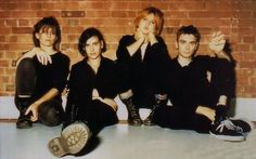'They hadn't seen each other for 20yrs': Elastica are back in the studio
