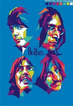40 Lovely Beatles Artworks To Appreciate - Bored Art Foto Beatles, Les Beatles, Beatles Art, Beatles Poster, Pop Art Poster, Rock Poster, Great Bands, Cool Bands, Rock And Roll
