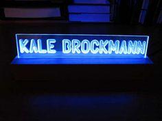 Simple LED Project: Illuminated Plexiglass Sign | Hack N Mod