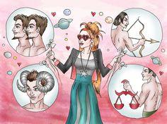 How to Date an Aquarius Woman -- via wikiHow.com so true!!!