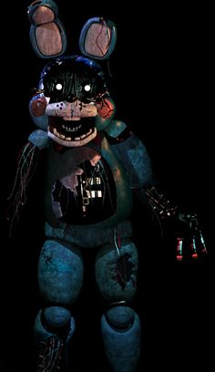 fnaf 3 toy bonnie not sure if this is really in the game or not but it would be so cool if it is