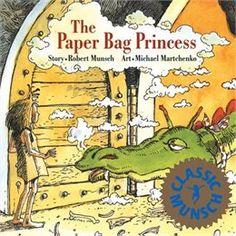 Book The Paper Bag Princess by Robert Munsch