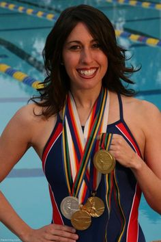 #TBT when TrueSport Ambassador and Olympic swimmer Janet Evans won five Olympic medals (four gold)!