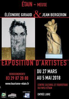 Exposition artistes Etain