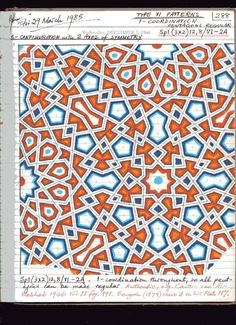 Page 188 of 191 Geometric Pattern Design, Geometry Pattern, Geometric Designs, Geometric Art, Islamic Art Pattern, Arabic Pattern, Zentangle Patterns, Mosaic Patterns, Star Patterns