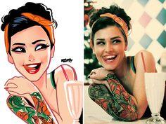AD-Digital-Illustrations-People-Portraits-Julio-Cesar-03