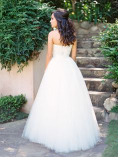 Tendance Robe du mariage 2017/2018  Dreamy tulle ballgown wedding dress: www.stylemepretty | Photography: Michael