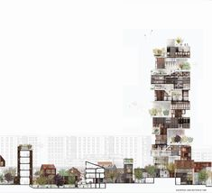 Lundgaard & Tranberg Arkitekter - törnrosen tower . malmö via Afasia