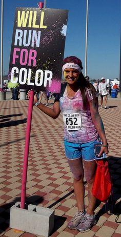 The Color Run! June 23! Woop woop!