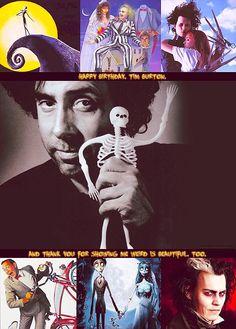 Love this man. Happy 54th Tim Burton!