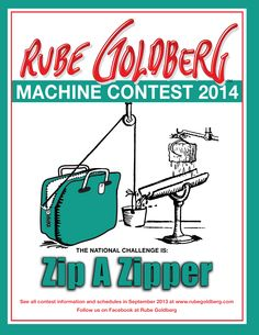Rube Goldberg : Home of the Official Rube Goldberg Machine Contests