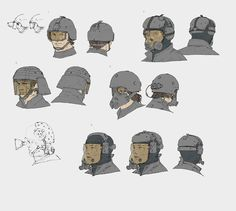 Sharp Objects - ajtron:   Concept art for Metal Gear Online