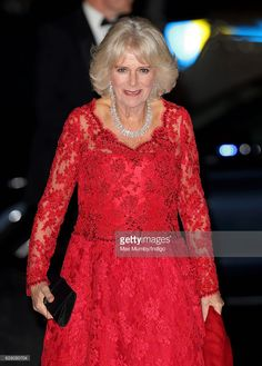 Camilla, Duchess of Cornwall attends the annual Royal Variety Performance at Eventim Apollo on December 6, 2016 in London, England.