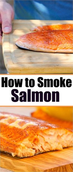 How to smoke salmon in your smoker right at home! The best rub for fish you will ever make that brings out the flavor and makes it melt in your mouth good. Easy recipe for those who have never smoked Traeger Recipes, Grilling Recipes, Seafood Recipes, Best Smoked Salmon, Smoked Fish, Chicken And Beef Recipe, Smoking Recipes, Smoking Food, Salmon And Shrimp