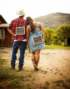 Cute country wedding idea