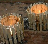 Kreatives Basteln mit Wäscheklammern aus Holz