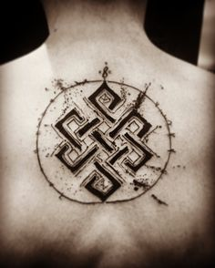 Endless knot tattoo Karma
