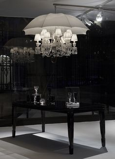 This absolutely stunning crystal chandelier 'Marie Coquine chandelier' was designed for Baccarats head office in his home county of France.