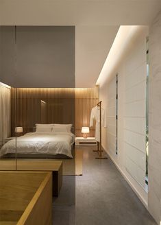 Wall Design Idea - Create A Wooden Slat Feature Wall