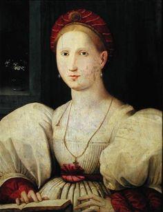 Balzo  -  Paolo Zacchia Title:Portrait of a Woman -  1530-1540