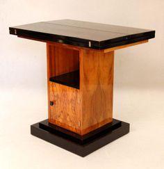 Art d co eug ne printz bureau bois de palmier et fer for Deco meuble leon