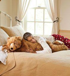 Bear Body Pillow - Fluffy Gifts