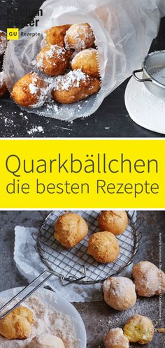 # Quark balls like at the Or would you prefer tasty with We have . - Back-Liebe - Delicious dessert Cheesy Cauliflower, Cauliflower Casserole, Sweet Desserts, Delicious Desserts, Mi Recipe, Coffee Quotes Funny, Food Places, Coffee Recipes, Winter Food
