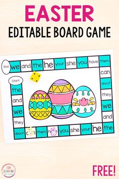 Board games 212021095043281948 - We love this editable Easter board game. It is perfect for Easter literacy and math centers this spring! A fun Easter activity for kids. Source by funlearningforkids Pirate Activities, Easter Activities For Kids, Literacy Games, Kindergarten Activities, Articulation Activities, Therapy Activities, Word Games For Kids, Easter Art, Fun Learning
