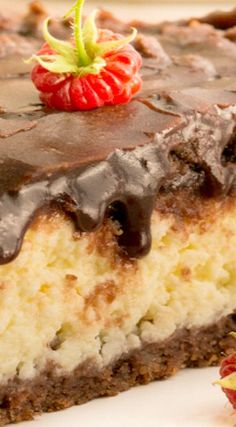 Farmers Cheese Chocolate Cake
