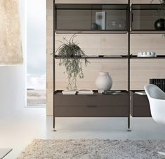 Zenit libreria by Rimadesio | Room dividers